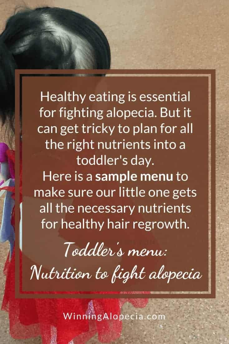 Foods for hair growth for children with Alopecia on Winning Alopecia Pinterest