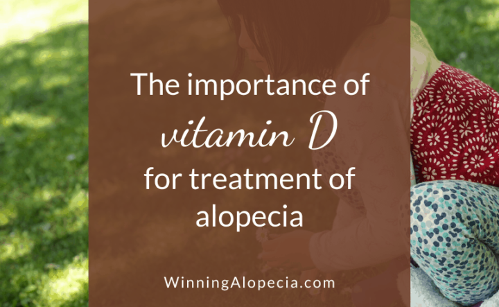 Does Vitamin D help hair growth in Alopecia Areata?