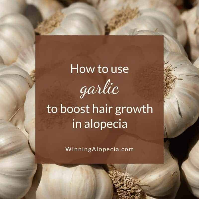 How to use garlic for hair growth in Alopecia Areata