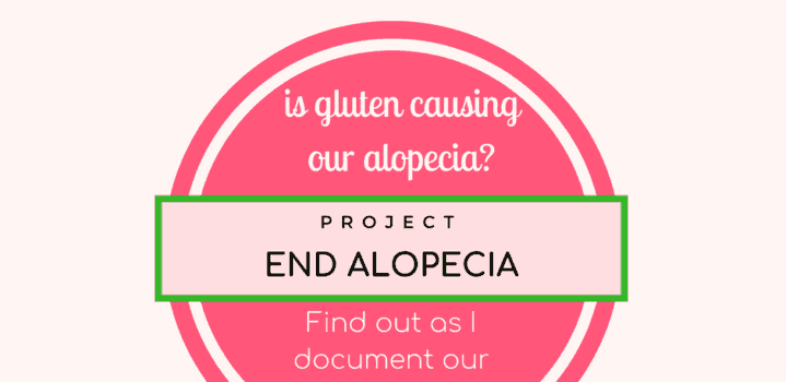 Will going gluten free help with hair loss and Alopecia Areata?