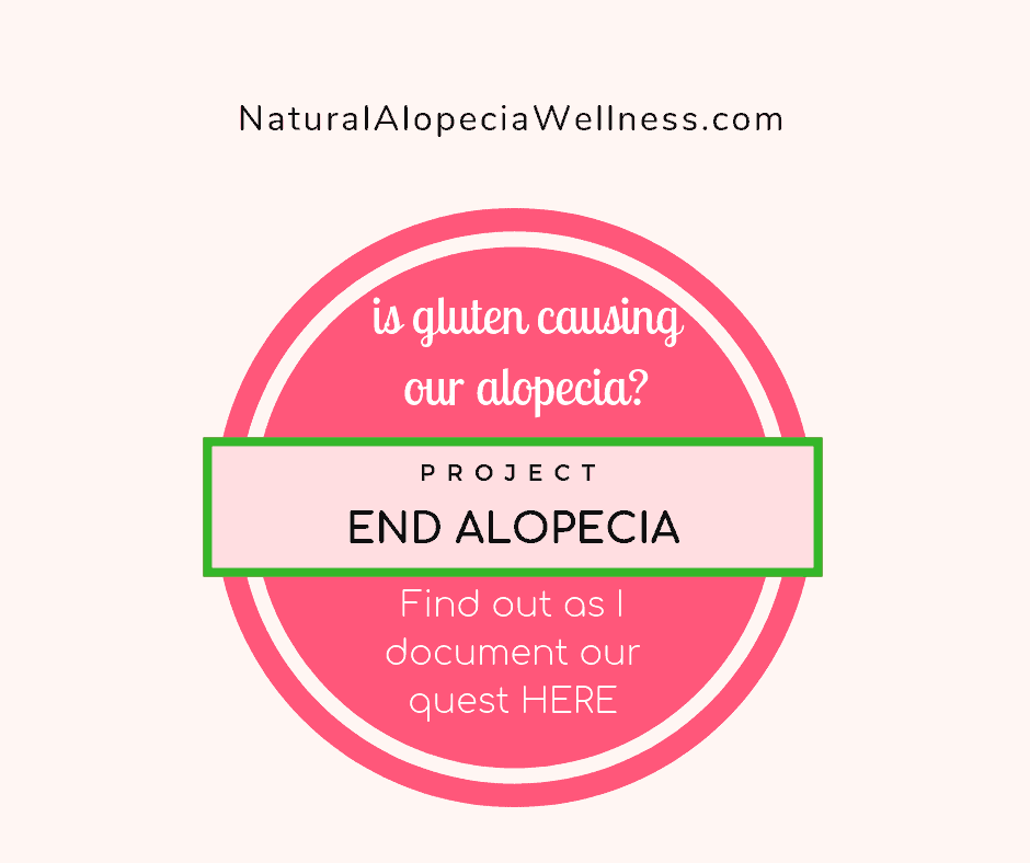Will going gluten free help with hair loss and Alopecia on Natural Alopecia Wellness