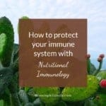 How to protect our immune system with Nutritional Immunology on Winning Alopecia
