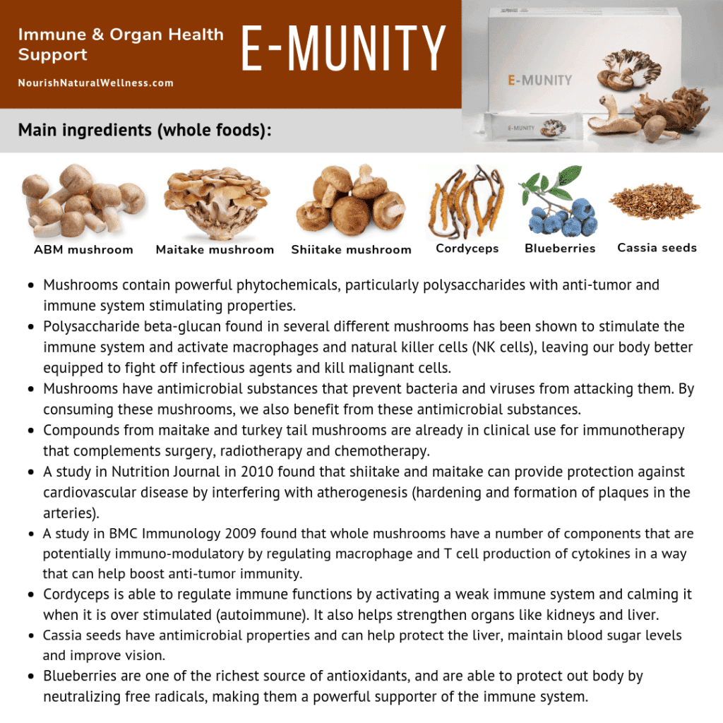 Emunity immune and health support for Nutritional Immunology