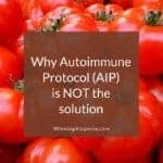 5 Limitations of Autoimmune Diet (AIP) for Autoimmune Alopecia on Winning Alopecia