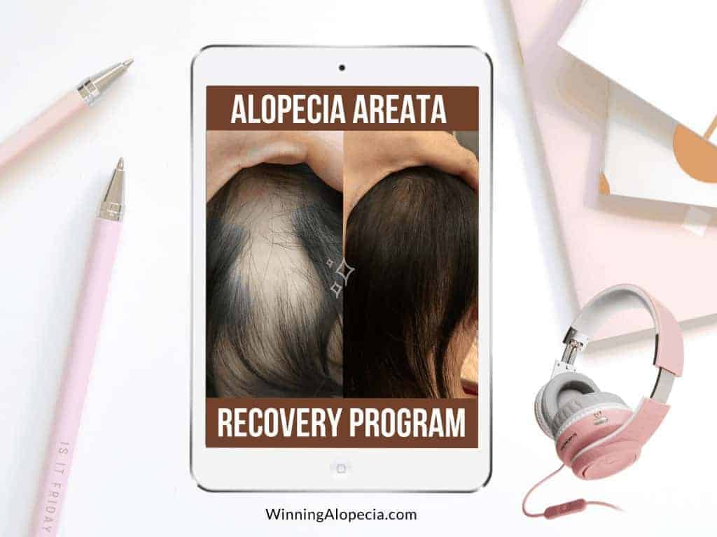 Alopecia Areata Recovery Program on Winning Alopecia