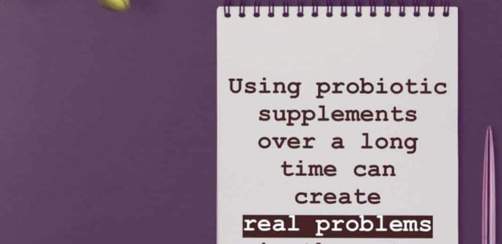 3 reasons why probiotic supplements don't build gut health