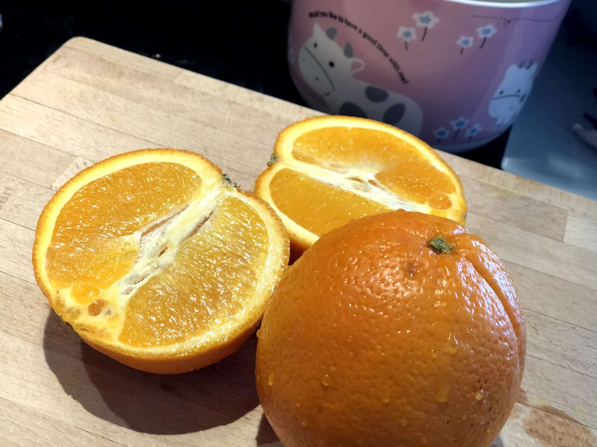 Eating oranges is not the same as taking vitamin C pills on Winning Alopecia
