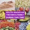 Healthy snacks for kids and family during Coronavirus pandemic on Winning Alopecia