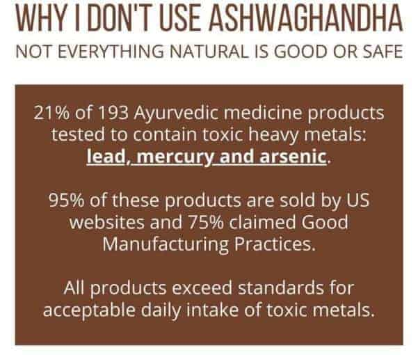 Why I don't use Ashwagandha for Alopecia