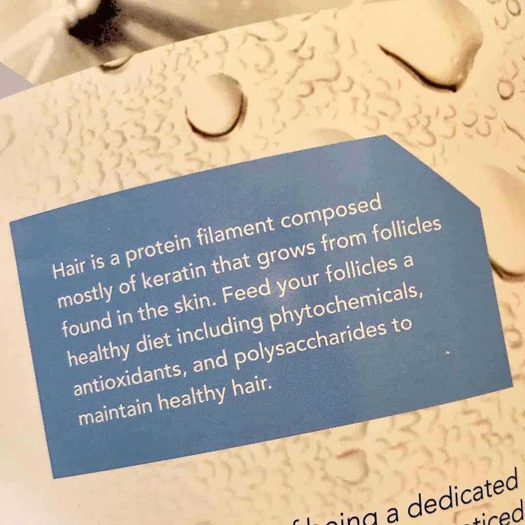 The nutrients you need for hair growth