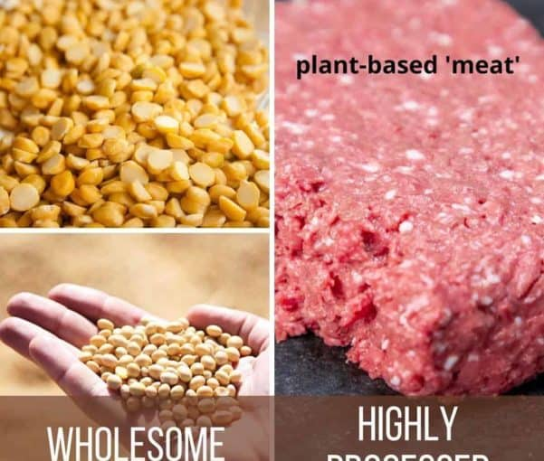 Why plant-based meat products are not healthy