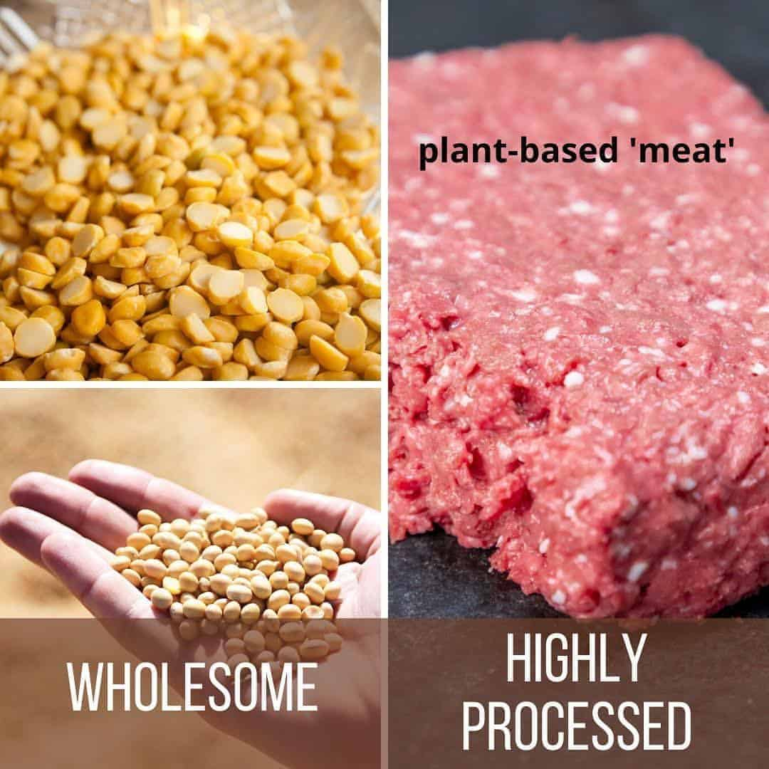 Why plant based meat alternatives are not healthy on Winning Alopecia