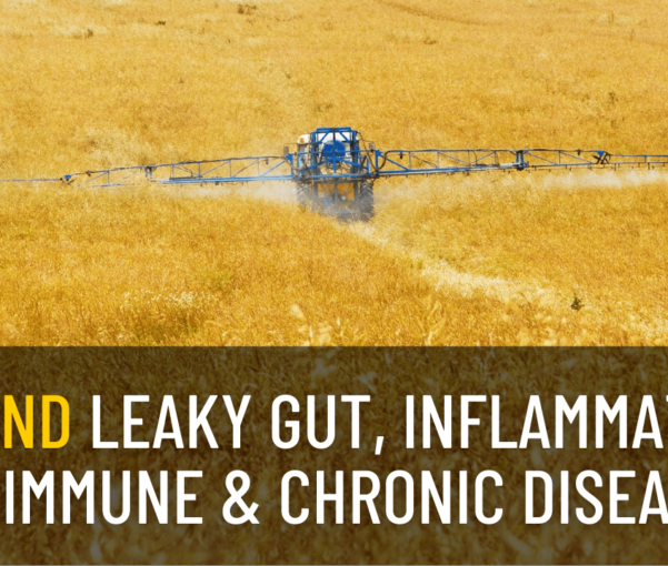 The Effects of Glyphosate on Leaky Gut, Inflammation, and The Rise in Autoimmune Disease