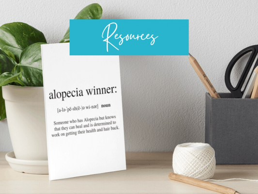 Alopecia Resources and Information - Instagram