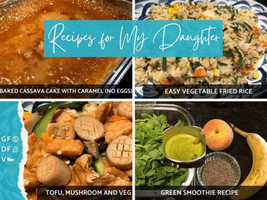 Recipes for My Daughter Youtube Show on Winning Alopecia