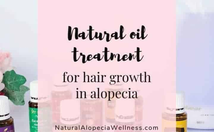 Alopecia treatment to boost hair growth using natural oils