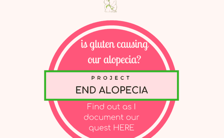 Project End Alopecia (Gluten-Free): Day 22