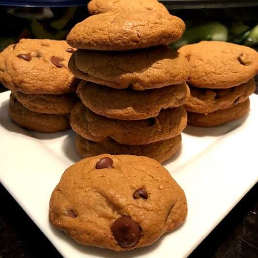 Gluten-free chocolate chip cookies on Natural Alopecia Wellness