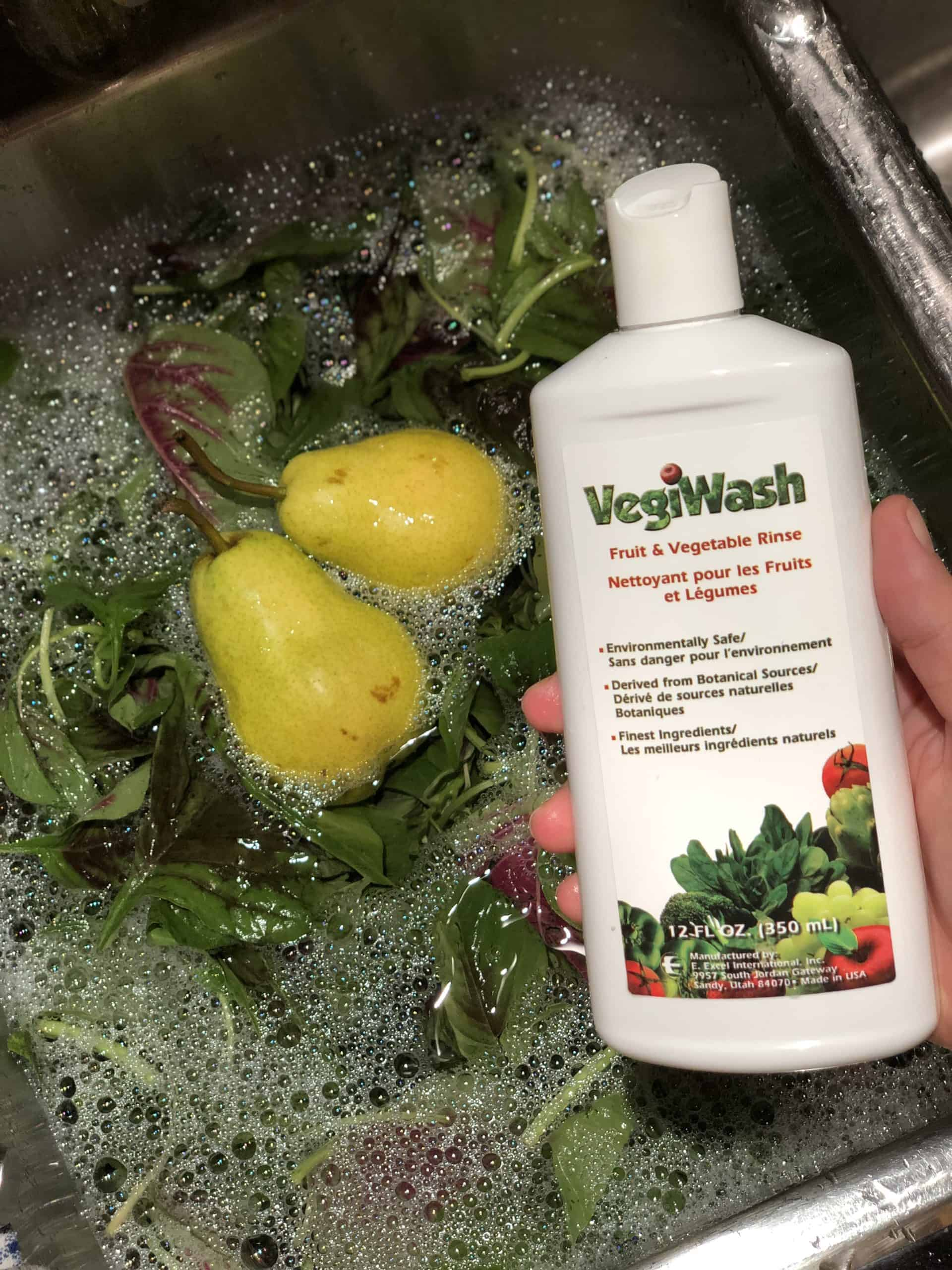 Vegiwash plant based fruit and vegetable soak on Winning Alopecia