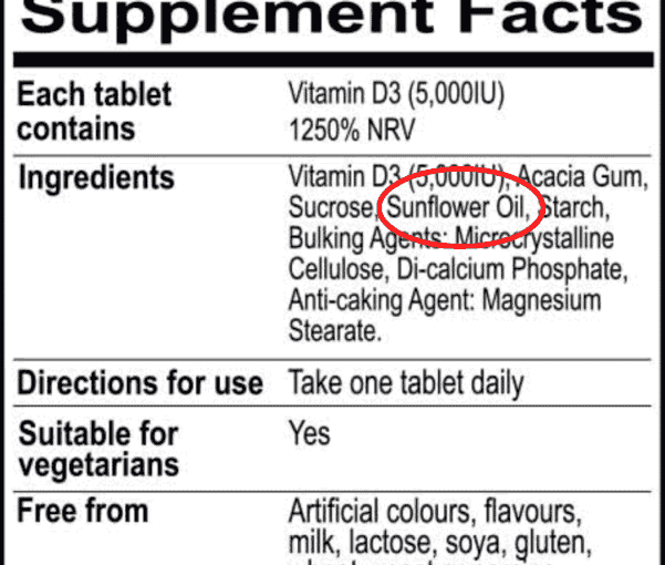 This one highly inflammatory ingredient in most supplement products
